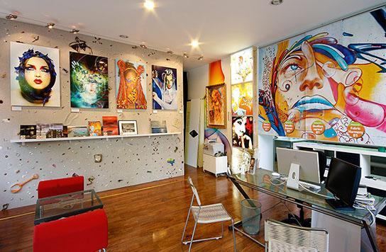 Näher am Kunden: Unser Showroom und Ladengeschäft in Berlin-Friedrichshain.